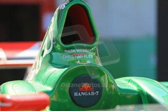 © Octane Photographic Ltd. 2011 Masters Racing Espiritu de Montjuic, April 8th 2011. Grand Prix masters, Historic Formula 1 racing. Digital Ref : 0042CB1D0401