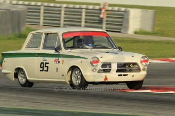 © Octane Photographic Ltd. 2011 Masters Racing Espiritu de Montjuic, April 10th 2011. Pre-1966 Touring Cars. Digital Ref : 0041CB1D0875