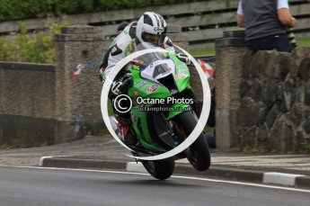 © Octane Photographic Ltd 2011. NW200 Thursday 19th May 2011. Michael Dunlop, Kawasaki - Street Sweep. Digital Ref : LW7D3165