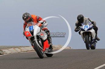 © Octane Photographic Ltd 2011. NW200 Thursday 19th May 2011. Dario Cecconi; John Hildreth, Suzuki. Honda. Digital Ref : LW7D2345