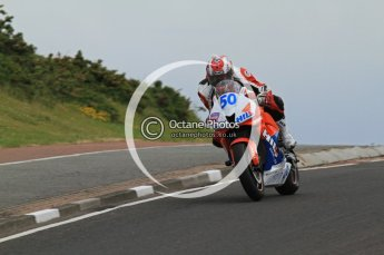 © Octane Photographic Ltd 2011. NW200 Thursday 19th May 2011. William Davison, Honda - Hill Contracts. Digital Ref : LW7D2614
