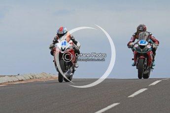 © Octane Photographic Ltd 2011. NW200 Thursday 19th May 2011. Luis Carreira Yamaha - CD Racing; Conor Cummins, Kawasaki - McAdoo Kawasaki Racing. Digital Ref :