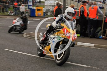 © Octane Photographic 2011. NW200, 17th May 2011 Superbike practice. Gerard Kinghan, BMW - Kinghan Racing. Digital ref : LW7D9616
