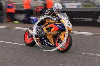 © Octane Photographic 2011. NW200, 17th May 2011 Superbike practice. William Cowden, Suzuki - PRF Racing. Digital ref : LW7D9902