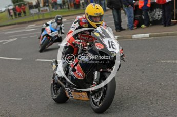 © Octane Photographic 2011. NW200, 17th May 2011 Supersport practice. John Burrows, Suzuki - Cookstown BE Racing. Digital ref : LW7D0503