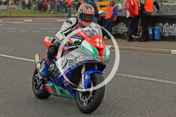 © Octane Photographic 2011. NW200, 17th May 2011 Supersport practice. Stephen Thompson, BMW - T & R Motorsport. Digital ref : LW7D0561