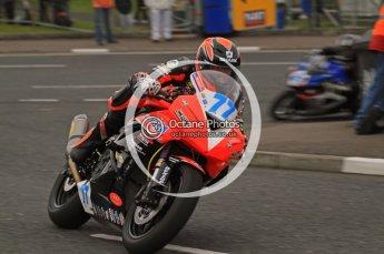 © Octane Photographic 2011. NW200, 17th May 2011 Supersport practice. Ryan Farquhar. Kawasaki - KMR Kawasaki / BA Components. Digital ref : LW7D1337