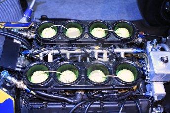 World © Octane Photographic Ltd. Race Retro 25th February 2011. Historic F1 cars. Satoru Nakajima Lotus 101 Judd. Digital Ref : 0644cb40d5776