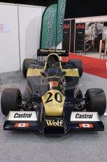 World © Octane Photographic Ltd. Race Retro 25th February 2011. Historic F1 cars. Jody Scheckter Wolf WR1. Digital Ref : 0644cb7d1720