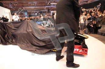 Autosport International 2011. Renault 2011 livery launch. Digital ref : 0046CB1D5920