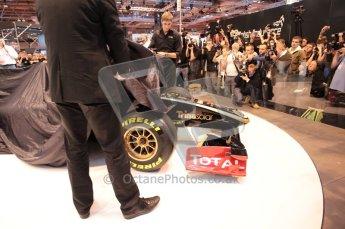 Autosport International 2011. Renault 2011 livery launch. Digital ref : 0046CB1D5925