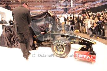 Autosport International 2011. Renault 2011 livery launch. Digital ref : 0046CB1D5935