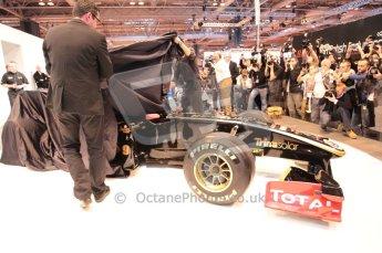 Autosport International 2011. Renault 2011 livery launch. Digital ref : 0046CB1D5936