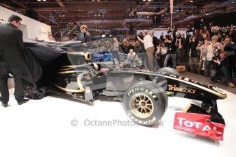 Autosport International 2011. Renault 2011 livery launch. Digital ref : 0046CB1D5948