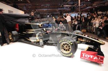 Autosport International 2011. Renault 2011 livery launch. Digital ref : 0046CB1D5955