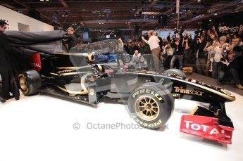 Autosport International 2011. Renault 2011 livery launch. Digital ref : 0046CB1D5956