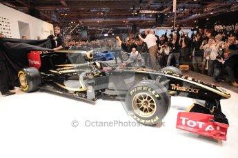 Autosport International 2011. Renault 2011 livery launch. Digital ref : 0046CB1D5960