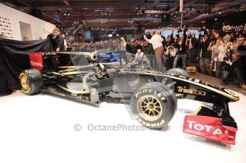 Autosport International 2011. Renault 2011 livery launch. Digital ref : 0046CB1D5962