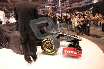 Autosport International 2011. Renault 2011 livery launch. Digital ref : 0046CB1D5929