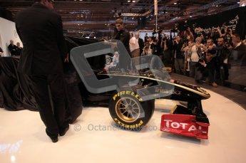 Autosport International 2011. Renault 2011 livery launch. Digital ref : 0046CB1D5933