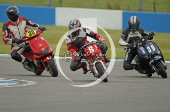 © Octane Photographic Ltd. Superstars meeting, Donington Park, Sunday 19th June 2011. All Heat/Replay British Scooter Championship. Digital Ref : 0080CB1D5134