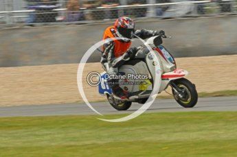 © Octane Photographic Ltd. Superstars meeting, Donington Park, Sunday 19th June 2011. All Heat/Replay British Scooter Championship. Digital Ref : 0080CB1D5771