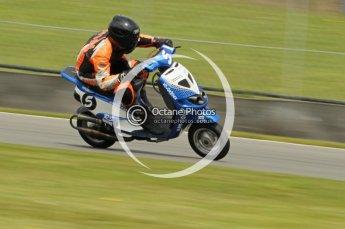 © Octane Photographic Ltd. Superstars meeting, Donington Park, Sunday 19th June 2011. All Heat/Replay British Scooter Championship. Digital Ref : 0080cb1d5820