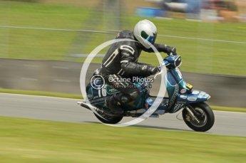 © Octane Photographic Ltd. Superstars meeting, Donington Park, Sunday 19th June 2011. All Heat/Replay British Scooter Championship. Digital Ref : 0080cb1d5829