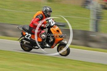 © Octane Photographic Ltd. Superstars meeting, Donington Park, Sunday 19th June 2011. All Heat/Replay British Scooter Championship. Digital Ref : 0080cb1d5840