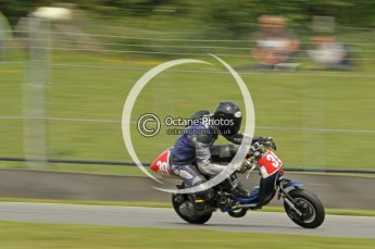 © Octane Photographic Ltd. Superstars meeting, Donington Park, Sunday 19th June 2011. All Heat/Replay British Scooter Championship. Digital Ref : 0080cb1d5860