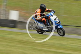 © Octane Photographic Ltd. Superstars meeting, Donington Park, Sunday 19th June 2011. All Heat/Replay British Scooter Championship. Digital Ref : 0080cb1d5869