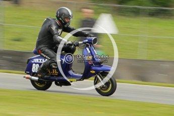 © Octane Photographic Ltd. Superstars meeting, Donington Park, Sunday 19th June 2011. All Heat/Replay British Scooter Championship. Digital Ref : 0080cb1d5899