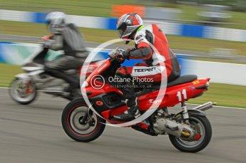 © Octane Photographic Ltd. Superstars meeting, Donington Park, Sunday 19th June 2011. All Heat/Replay British Scooter Championship. Digital Ref : 0080CB7D5093