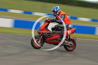 © Octane Photographic Ltd. Superstars meeting, Donington Park, Sunday 19th June 2011. All Heat/Replay British Scooter Championship. Digital Ref : 0080CB7D5106