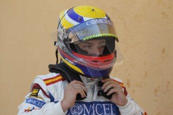 © Octane Photographic Ltd. 2011. European Formula1 GP - Valencia, Saturday 25th June 2011. GP3 Qualifying drivers holding area. Digital Ref:  0088CB1D7615