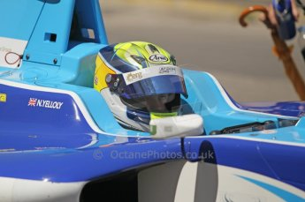 © Octane Photographic Ltd. 2011. European Formula1 GP - Valencia, Saturday 25th June 2011. GP3 Qualifying drivers holding area. Nick Yelloly. Digital Ref:  0088CB1D7635