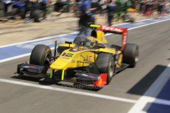 © Octane Photographic Ltd. 2011. European Formula1 GP, Saturday 25th June 2011. GP2 Race 1. Pal Varhaug - DAMS. Digital Ref:  0085CB1D7963