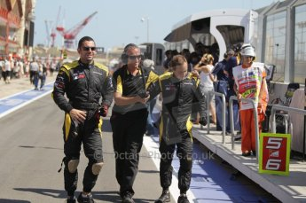 © Octane Photographic Ltd. 2011. European Formula1 GP, Saturday 25th June 2011. GP2 Race 1. The jubilant DAMS team after Romain Grosjean's win. Digital Ref: 0085CB1D8192