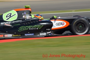 © Jones Photography 2011. World Series Renault – Silverstone, Sunday 21st August 2011. Formula Renault 3.5. Ken Korjus - Tech 1 Racing. Digital Reference 0154DSC04655