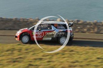 © North One Sport Ltd 2011 / Octane Photographic Ltd 2011. 10th November 2011 Wales Rally GB, WRC SS1 and SS2 Great Orme, Llandudno. Digital Ref : 0195lw7d1936