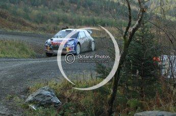 © North One Sport Ltd 2011 / Octane Photographic Ltd 2011. 12th November 2011 Wales Rally GB, WRC SS17 Myherin. Digital Ref : 0198cb1d9328