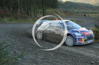 © North One Sport Ltd 2011 / Octane Photographic Ltd 2011. 12th November 2011 Wales Rally GB, WRC SS17 Myherin. Digital Ref : 0198cb1d9336