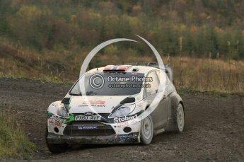 © North One Sport Ltd 2011 / Octane Photographic Ltd 2011. 12th November 2011 Wales Rally GB, WRC SS17 Myherin. Digital Ref : 0198cb1d9366