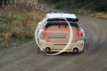 © North One Sport Ltd 2011 / Octane Photographic Ltd 2011. 12th November 2011 Wales Rally GB, WRC SS17 Myherin. Digital Ref : 0198cb1d9420