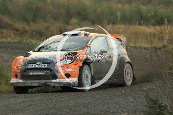 © North One Sport Ltd 2011 / Octane Photographic Ltd 2011. 12th November 2011 Wales Rally GB, WRC SS17 Myherin. Digital Ref : 0198cb1d9467