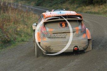 © North One Sport Ltd 2011 / Octane Photographic Ltd 2011. 12th November 2011 Wales Rally GB, WRC SS17 Myherin. Digital Ref : 0198cb1d9478