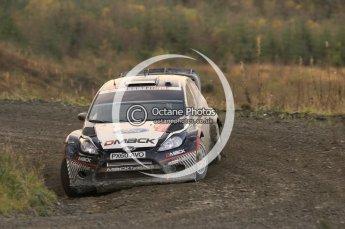 © North One Sport Ltd 2011 / Octane Photographic Ltd 2011. 12th November 2011 Wales Rally GB, WRC SS17 Myherin. Digital Ref : 0198cb1d9485