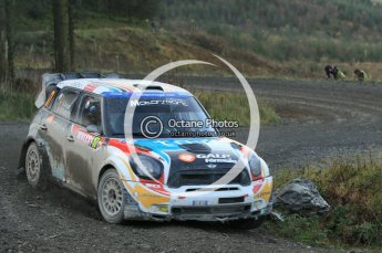 © North One Sport Ltd 2011 / Octane Photographic Ltd 2011. 12th November 2011 Wales Rally GB, WRC SS17 Myherin. Digital Ref : 0198cb1d9617