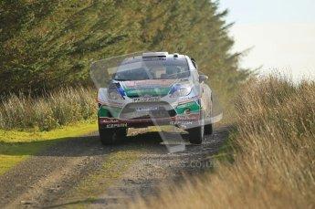 © North One Sport Ltd 2011 / Octane Photographic Ltd 2011. 13th November 2011 Wales Rally GB, WRC SS21 Halfway. Jari-Matti Latvala and Miikka Antilla in their Ford Fiesta RS WRC, Digital Ref : 0200CB1D9692