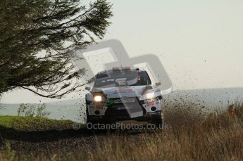 © North One Sport Ltd 2011 / Octane Photographic Ltd 2011. 13th November 2011 Wales Rally GB, WRC SS21 Halfway. Mads Ostberg and Jonas Andersson in their Ford Fiesta RS WRC, Digital Ref : 0200LW7D8665
